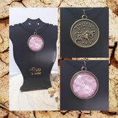 Collane con ciondolo dei Segni zodiacali di Terra (Toro, Vergine, Capricorno) UNISEX