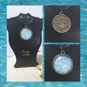 Collane con ciondolo dei Segni zodiacali d'Acqua (Cancro, Scorpione e Pesci) UNISEX