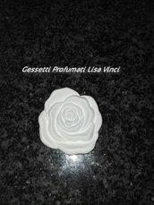 Gessetto a Forma di Rosa