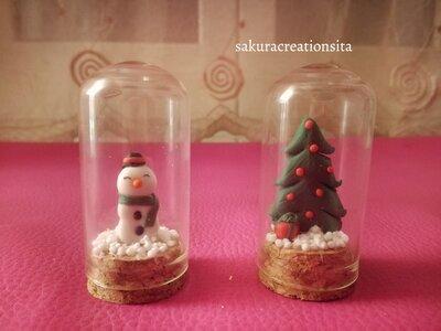 Mini teche natalizie