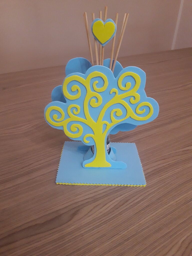 Portaprofumatore albero della vita