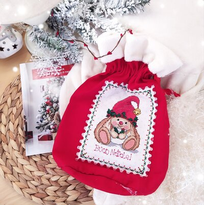Sacchetto Natalizio per regali