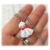 Collana Teru Teru Bozu - Amuleto Tradizionale Giapponese Otaku