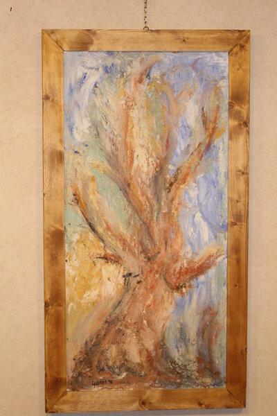 Quadro a intonaco - albero