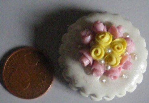 calamita da frigo: wedding cake