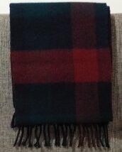 Sciarpa pura lana vintage.