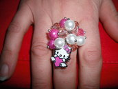 ANELLO HELLO KITTY   IN SALDO