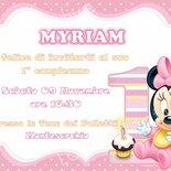 Invito digitale Minnie