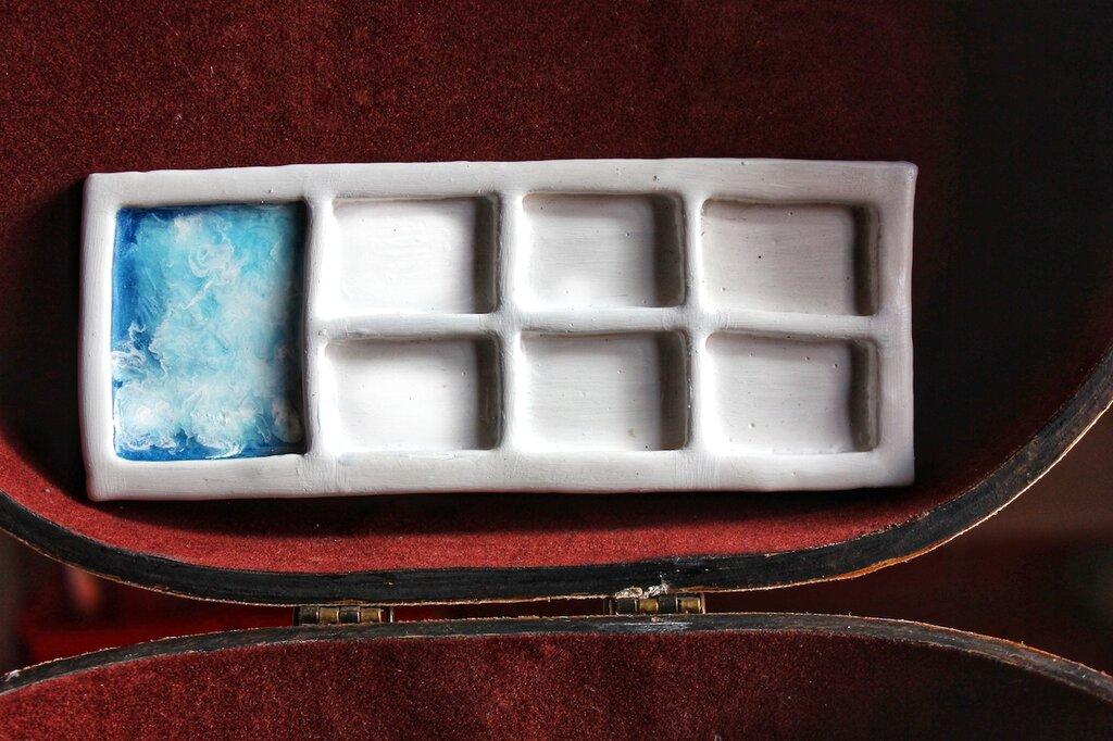 Palette Acquerelli | Ceramica a freddo | Chrysalism