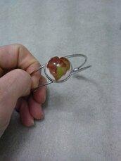 Braccialetto donna regolabile braccialetto fatto a mano bracciale rigido braccialetto fiori veri inserto in resina