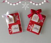 Cioccolatini natalizi personalizzati