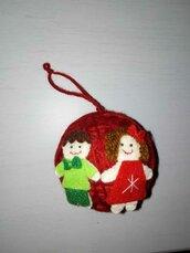 """Palla di Natale """"Famiglia"""""""