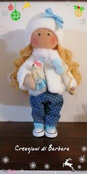 Bambola russa fatta a mano