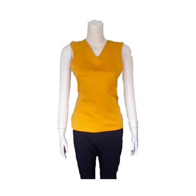 Top/ sotto giacca oro giallo/taglie S-M-L