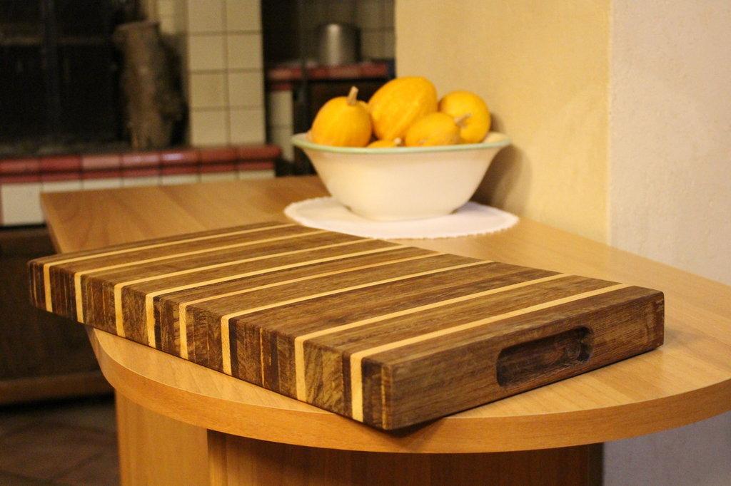 Tagliere in legno iroko