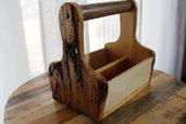 Portacondimenti in legno
