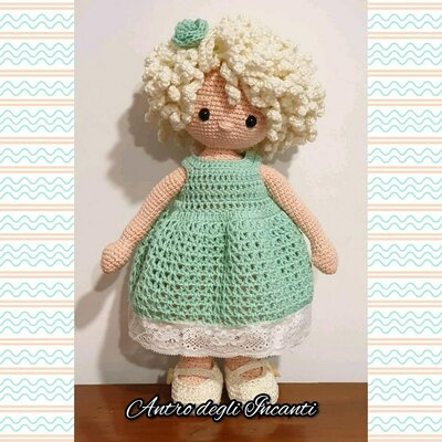 Bambola amigurumi Louisa