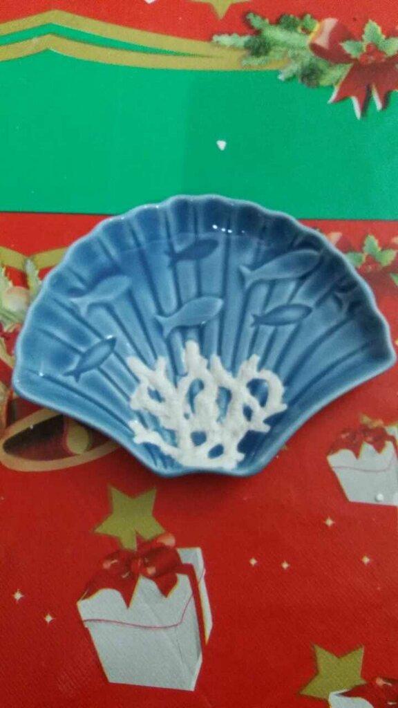 Svuota tasche conchiglia ceramica