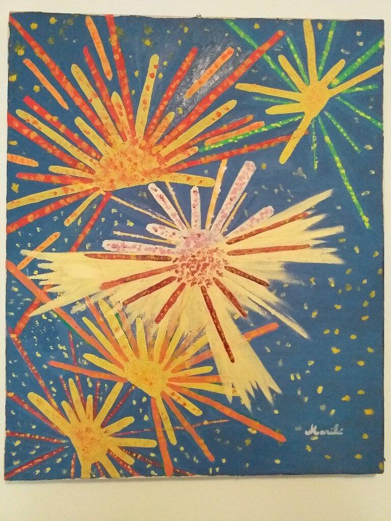 fuochi di artificio