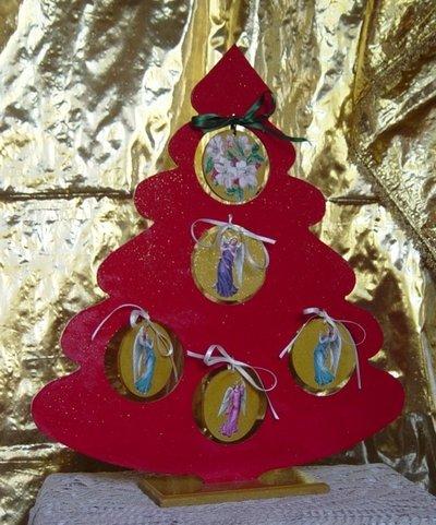 Albero di Natale in Legno