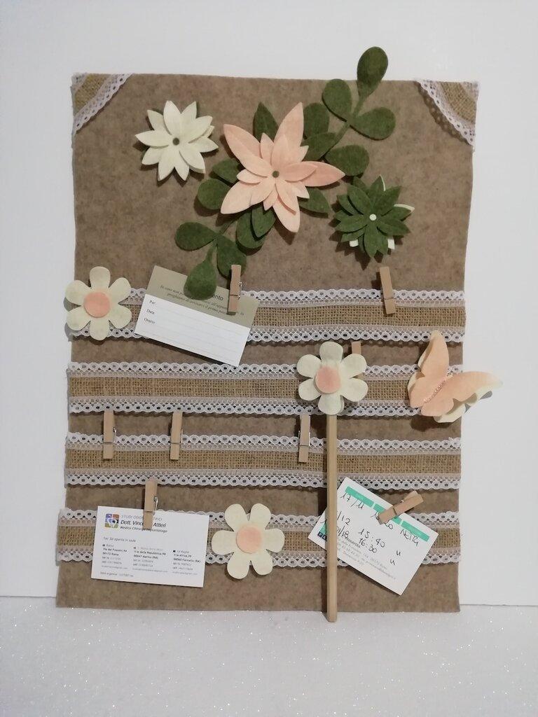 Pannello decorativo memo feltro misshobby.com doni e bomboniere matita decoro da parete casa regalo per te