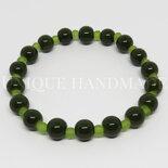 Bracciale verde scuro