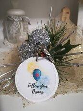 Portachiavi personalizzato Foto Testo Idea regalo ciondoli Swarovski perline.