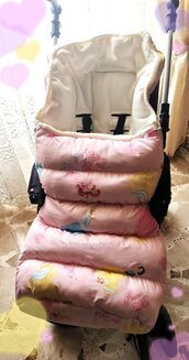 Sacca termica passeggino/sacco a pelo/sleeping bag