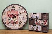 coordinato orologio-cassettiera  'intramontabile Topolino'