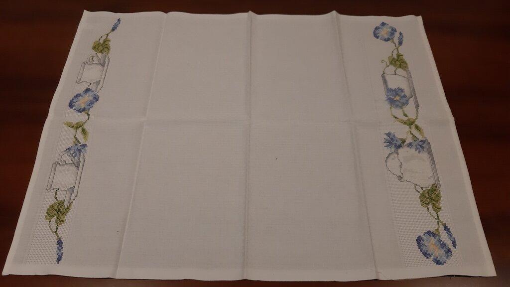 Asciughino cucina / Tovaglietta tema fiori