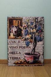 Uva e vino, poesia della Terra