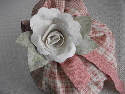 Sacchetto con rosa