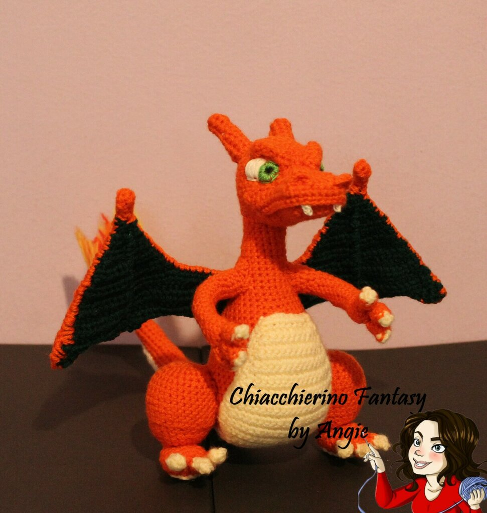 Charizard Amigurumi : pokemon | 1024x971