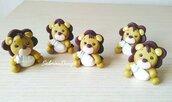 Bomboniera leone con biberon, bomboniera leoncino, bomboniere battesimo, animaletti comunione, compleanno safari, bomboniere animali