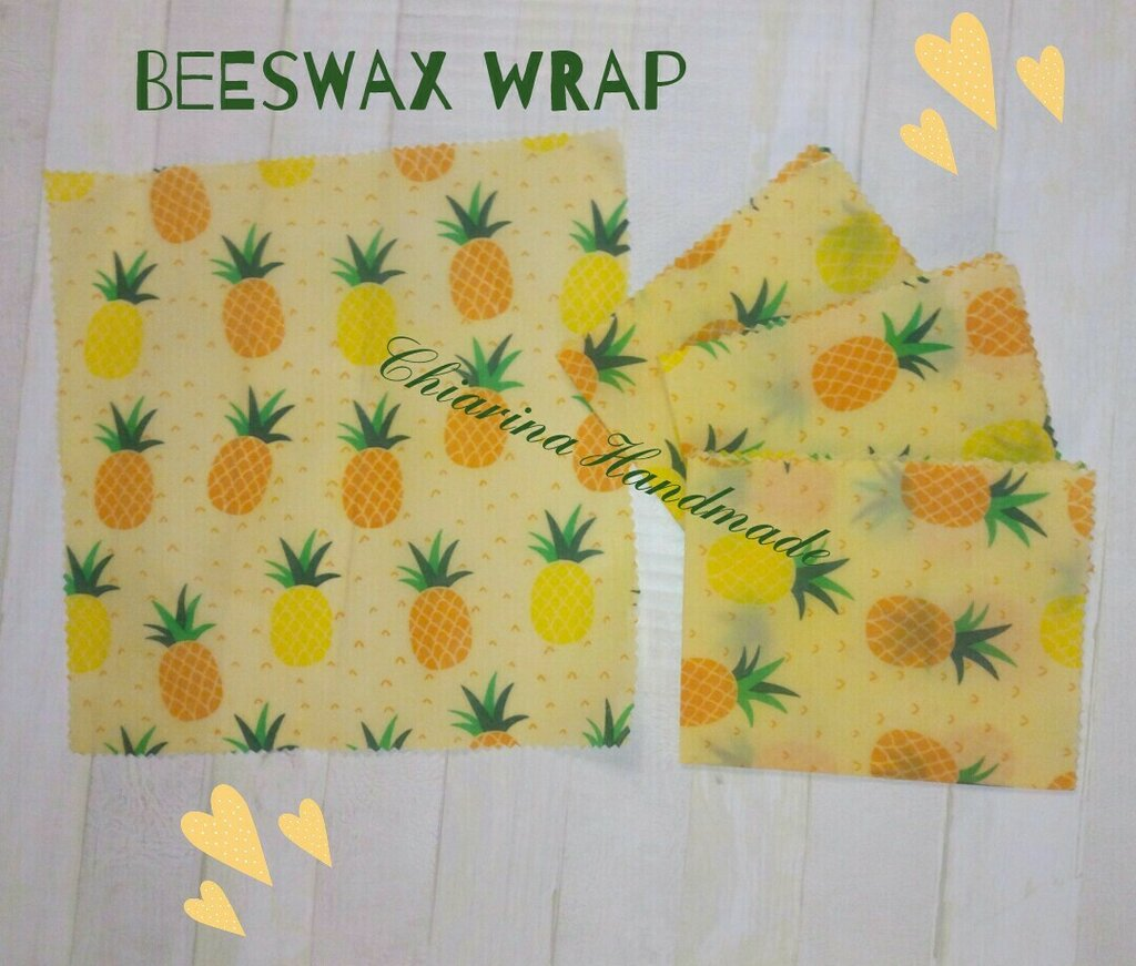 Beeswax wrap - panno in cera d'api