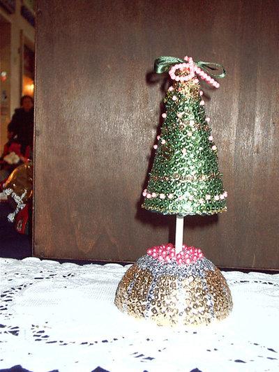Albero di Natale Paillettes
