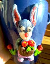 tazza da the coniglietta giardiniera