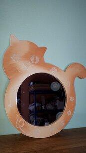 specchio gatto bicolor