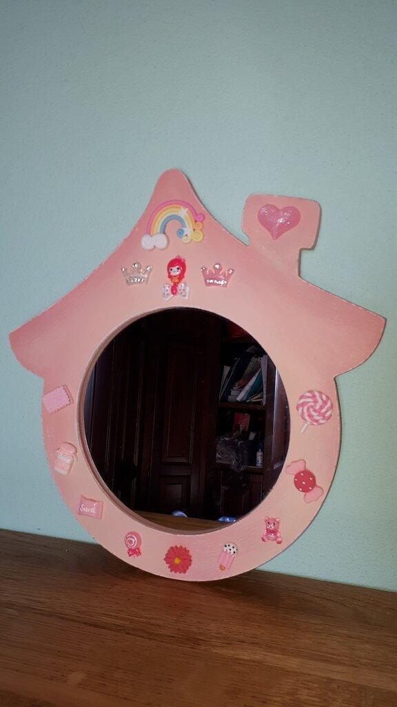 specchio casetta fantasy