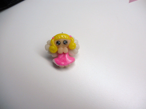 "CHARMS IN FIMO PER BOMBONIERE ""DIRTY ANGEL"""