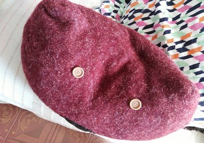 cuscini fatti a mano in lana e cotone