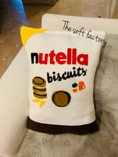 Cuscino Nutella biscuit's