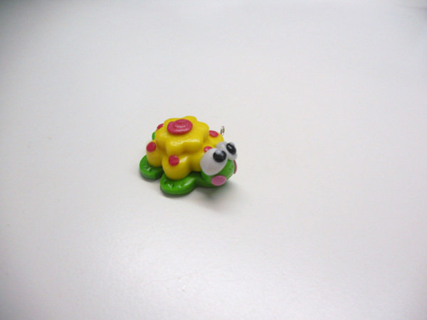 "CHARMS IN FIMO PER BOMBONIERE ""COLORFUL TURTLE"""