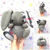Pupazzo Lunar Bunny Lilla - Fanta Pets by Nixie Creations