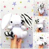 Pupazzo Lunar Bunny Bianco - Fanta Pets by Nixie Creations