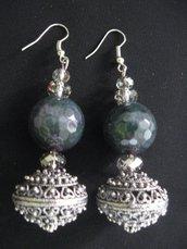 orecchini esmeralda