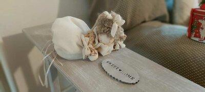 Bambolina decorativa shabby chic