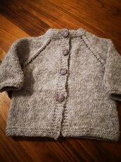 Cardigan baby 0/3 mesi
