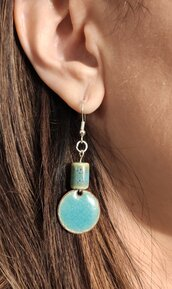 orecchini celeste mare