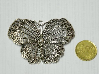 Charm grande farfalla
